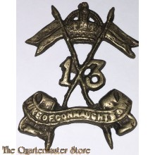 Cap badge 13th Duke of Connaughts Own Lancers