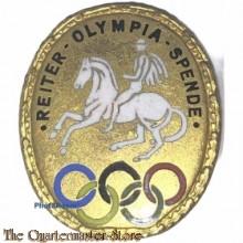 Spende Abzeichen Reiter Olympia Spende 1936