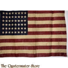 Small 48 stars and stripes flag WW2