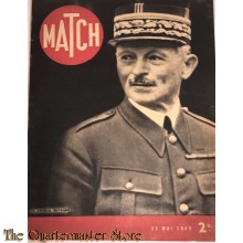 Magazine MATCH 23 Mai 1940, Le General Weygand