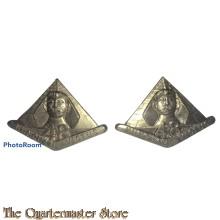 Collar badges 48 Inf Bat (The Torrens Regiment)