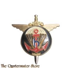 Insigne 6th Marine Infantry Parachute Regiment (6e Régiment de Parachutistes d'Infanterie de Marine)