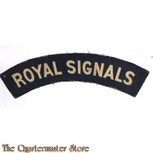 Shoulder flash Royal Signals (canvas)