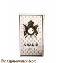 France - RIZ Abadie Paris sigarette paper 1935/40 (Sigaretten vloeipapier RIZ Abadie Frankrijk 1935-40)
