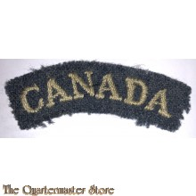 Shoulder flash CANADA RCAF WW2