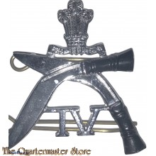 Cap badge 4th Prince of Wales Own Gurkha Rifles (4th Gorkha Rifles) post 1947