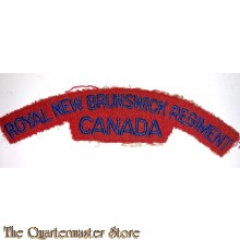 Shoulder flash Royal New Brunswick Regiment 1950s