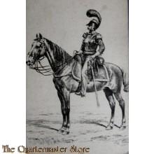 Ansicht Kaart Cavalerist 1825