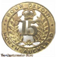 Cap badge 15th North Auckland Regiment , New Zealand Army