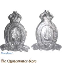 Collar badges 22nd Inf Bat The South Gippsland Regiment 1930-1942