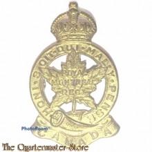 Cap badge Royal Montreal Regiment 2nd Canadian Division