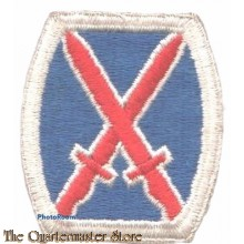 Mouwembleem 10th Mountain Division (Sleeve patch 10th Mountain Division)