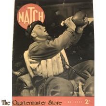 Magazine MATCH 2 Mai 1940, Les Francais en Norvege