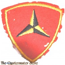 Mouw embleem 3e Marine Division (Sleeve patch 3rd Marine Division)
