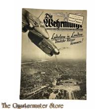 Magazine Die Wehrmacht 4e Jrg no 19, 11 sept 1940