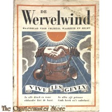 Maandblad de Wervelwind Bulletin no 4 , juli 1942