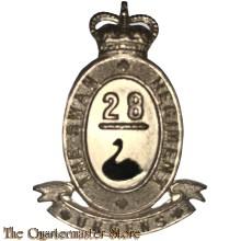 Cap badge 28th Battalion (the Swan Regiment)