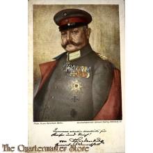 Militair Postkarte General-Feldmarschall v. Hindenburg