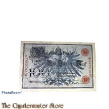 Reichsbanknote Hundert Mark 1908