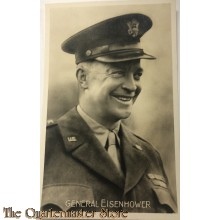 Postcard 1945 General Eisenhower