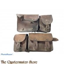 France - WW2 M35 pair of Cartridge pouches