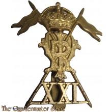 Cap badge The 21st Lancers