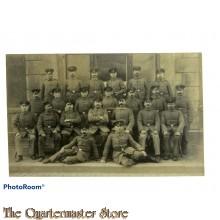 Photo gruppe Deutsche soldaten WK1