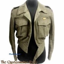 Battle dress met broek 2e Lt Lichte luchtdoel Regiment Kornwerderzand