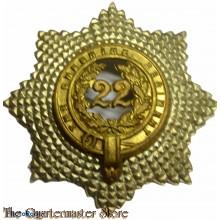 Cap badge 22nd foot Cheshire Regiment