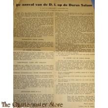 Flyer de aanval van de D.I. op de Darus Salam 8-05-1949