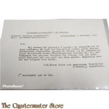 Bericht uitslag Stempeltocht NIWIN 8 nov 1947