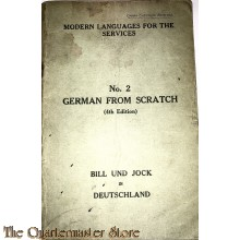 Modern Languages for the Services , no 2 German  from scratch (4th edition) 1944