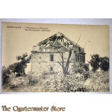 Postcard Montfoucon, the Crownprince 's Observatory 1917