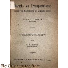 Marsch en Transportdienst voor korporaals en onderofficieren