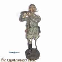 Wehrmacht muzikant dwarsfluit Elastolin (German musician flute WW2)