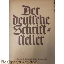 Der deutsche Schriftsteller No 12 dec 1939