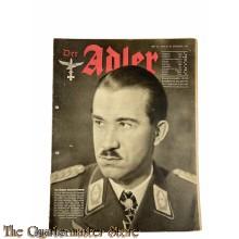 Zeitschrift Der Adler heft 26,  29 dec 1942 (Magazine Der Adler no 26 ,29 dec 1942)