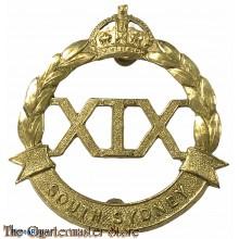 Cap badge 19th Inf bat The South Sidney Regiment 1927-1942