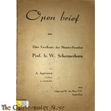 Open brief aan Zijne Excellentie den Minister-President Prof. Ir. W. Schermerhorn