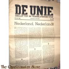 Krant de Unie no 47, 10 juli 1941