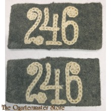 Uberschube WH (Heer) 'Infanterie-Regiment 246' (WH (Heer) slip-ons for the 'Infanterie-Regiment 246')