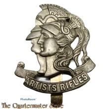 Cap badge 28th County of London battalion Artists Rifles