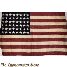 48 stars and stripes flag WW2