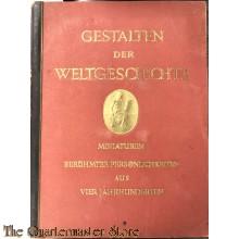 Cigaretten album 1933 Gestalten der Weltgeschichte, 1933, Zeitgenössische Miniaturen berühmter Persönlichkeiten aus vier Jahrhunderten
