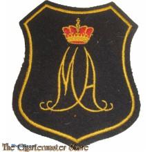Borst embleem / Blazer badge Koninklijke Militaire Academie KMA