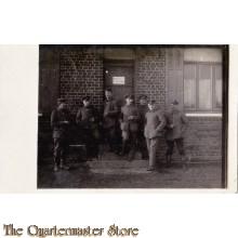 AnsichtsKarte (Mil. Postcard) 1917 4 Bay Inf soldaten