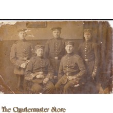 AnsichtsKarte (Mil. Postcard) 1914 5 soldaten