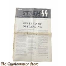 Storm SS Weekblad DER GERMAANSE SS in Nederland 4e jrg no 1 , 7 april 1944