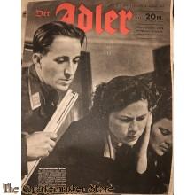 Zeitschrift Der Adler heft 2, 18 jan 1944 (Magazine Der Adler no 2, 18 jan 1944)