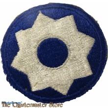 Mouwembleem 8th US Service Command (Sleeve badge 8th US Service Command)